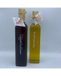 Huisgemaakte olie & azijn-balsam actie